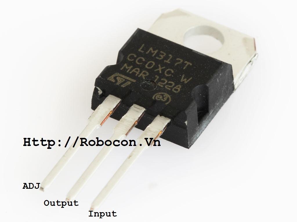IC ổn áp LM317