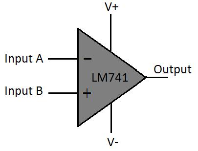 Cấu tạo lm741