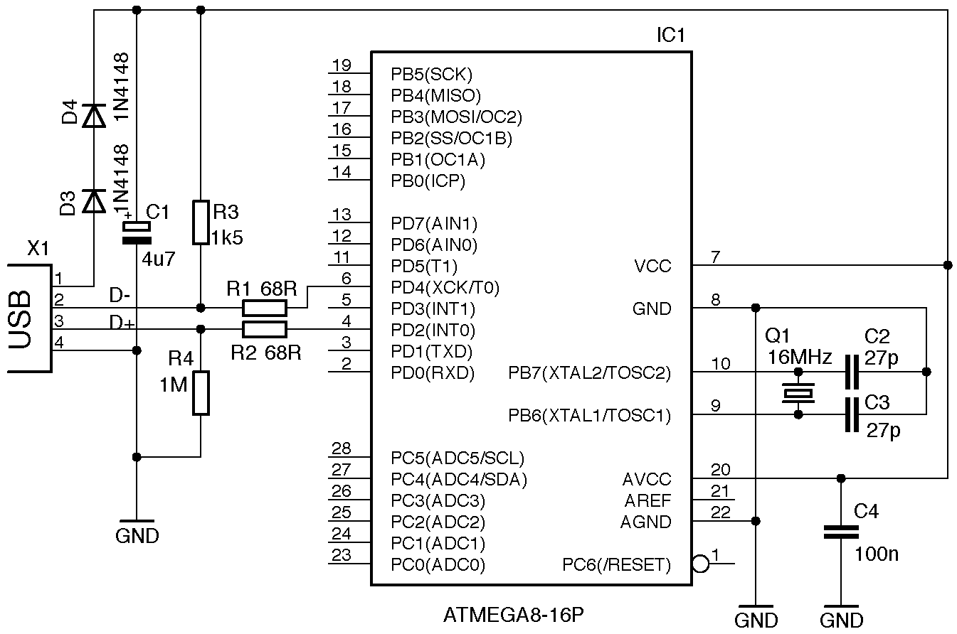 vdk7 atmega8